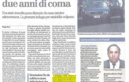 Investito mentre attraversa: risarcimento pedone Vicenza