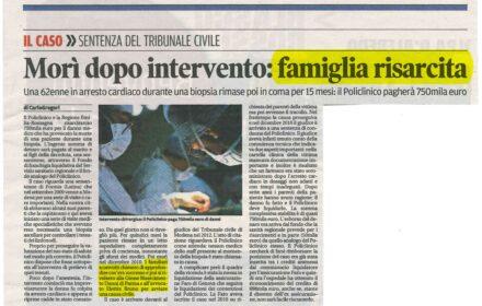 Risarcimento errore medico ospedale Modena