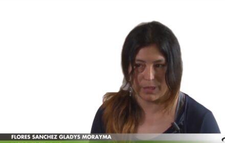 Flores Sanchez Gladys Morayma racconta la perdita del compagno Rubbi Cristiano